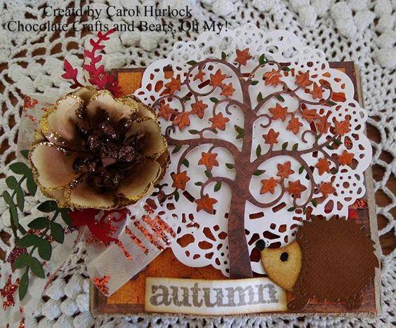 CottageCutz Harvest Tree Gift Box