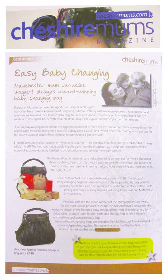 Cheshire Mums January '11
