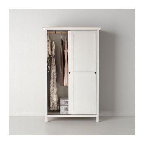 Ikea Kleiderschrank Weiß Mit Schiebetüren ~   Pax kleiderschrank mit schiebetüren weiß hasvik rot von ikea