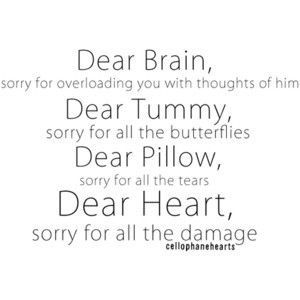 Deart heart sorry for all the damage #quotes