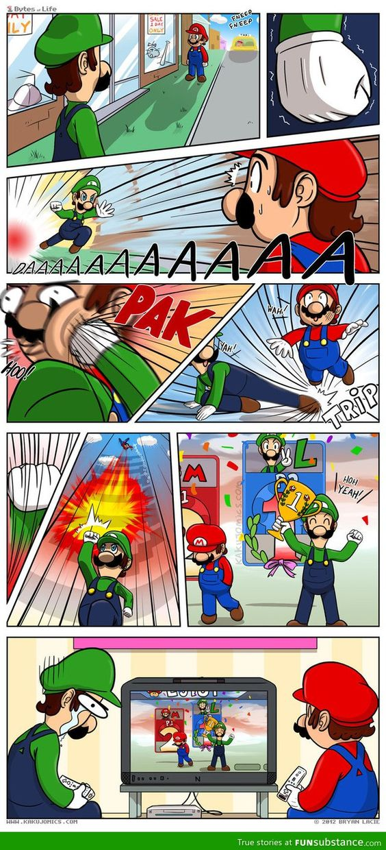 Mario does it again!