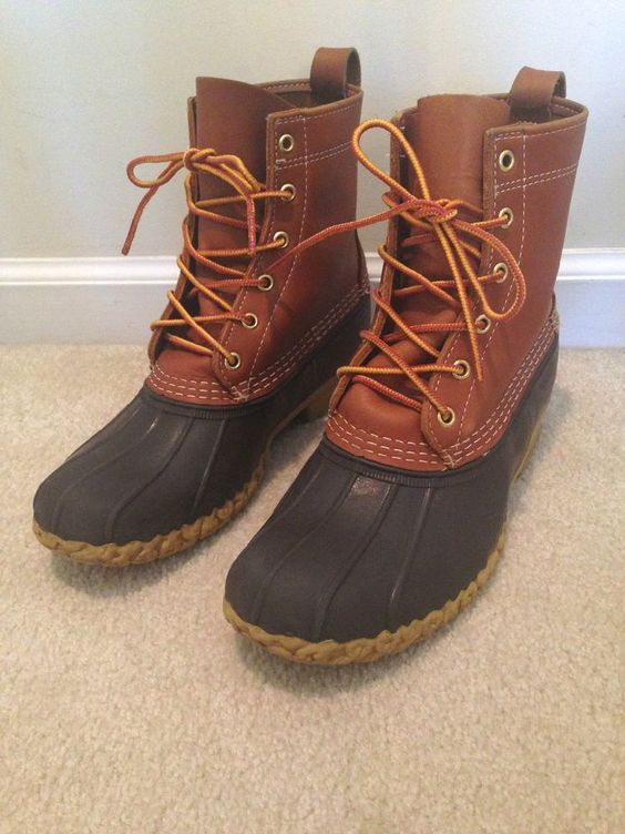 Beautiful Womenu0026#39;s LL Bean Main Hunting Shoe Duck Boots Spring / By ShopNDG