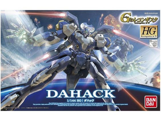 1/144 Scale Reconguista in G - Dahack - Gundam: Imported Model Kits 1/144 HGRG