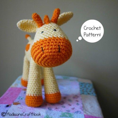 Grant the giraffe crochet pattern