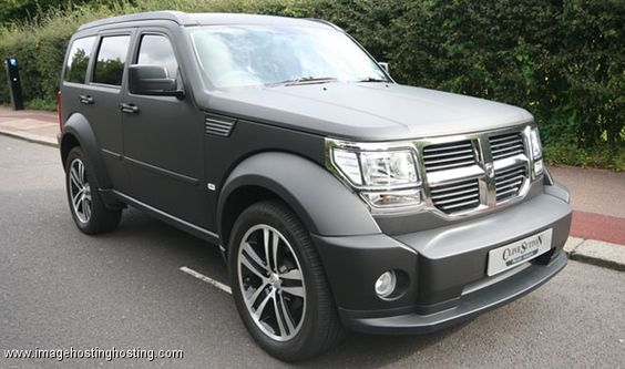 Dodge Nitro - Oh my goodness, this is SIC! All in a matte finish...GENIUS! Another favorite, everything is perfecto!