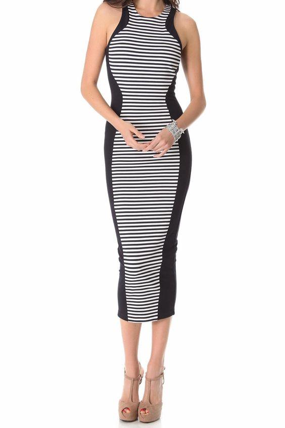 Torn by Ronny Kobo Shiran Long Stripe- Size 2, $30/Week