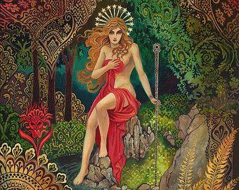 Pagan witch goddess.