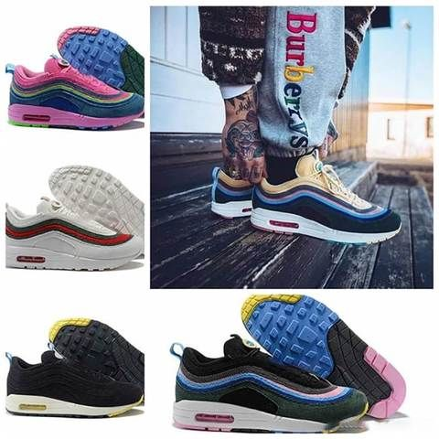 2019 New Arrival with box 97 Mens Womens Running Shoes