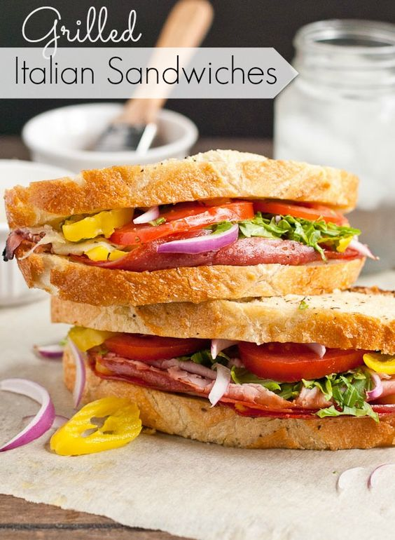Italian sandwiches, Sandwiches and Sandwich loaf on Pinterest