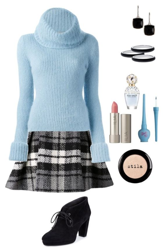 """""""Untitled 92"""" by glitterati-cs ❤ liked on Polyvore featuring Drome, Ermanno Scervino, M&S, Argento Vivo, Ilia, Marc Jacobs, Stila, women's clothing, women and female"""
