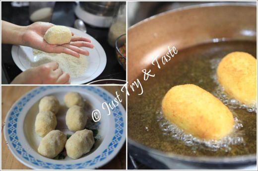 Resep Kroket Kentang Isi Ayam Dan Wortel Resep Makanan Penutup Kroket Resep