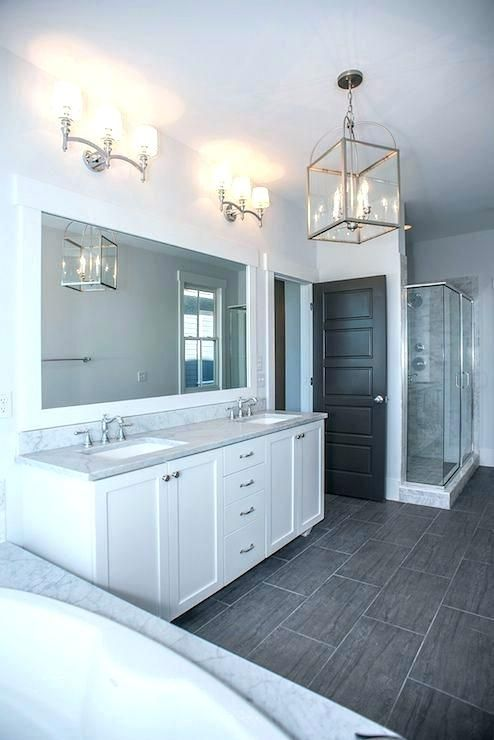 Gray White Bathroom Grey And White Master Bathroom Ideas The Best Gray Bathrooms Ideas Gray Bat Grey Bathroom Floor Grey Bathroom Tiles Bathroom Remodel Master