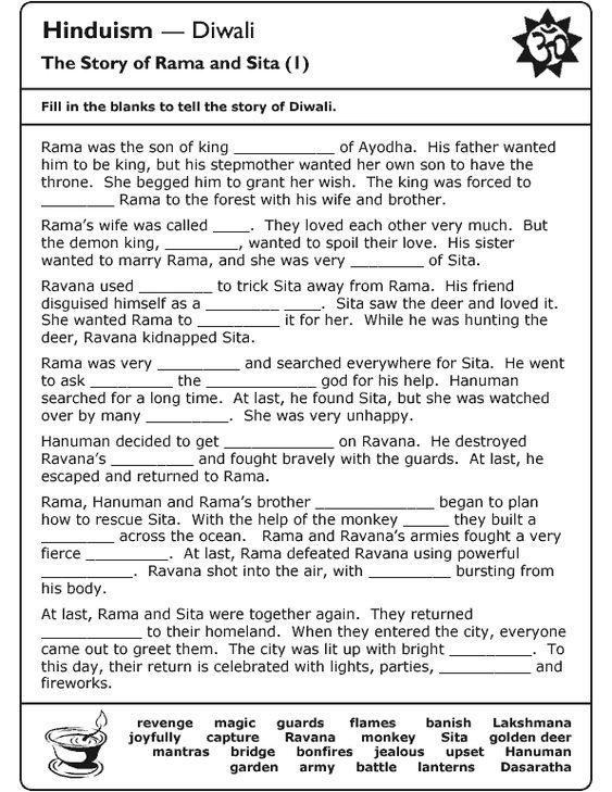 All Worksheets Hindu Worksheets Free Printable Preeschool and – Hinduism Worksheet