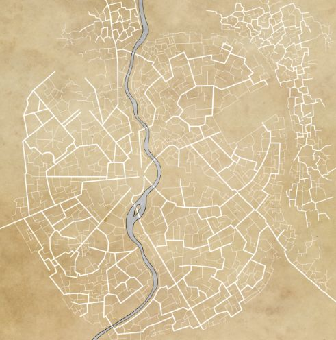 how to draw a city map d&amp