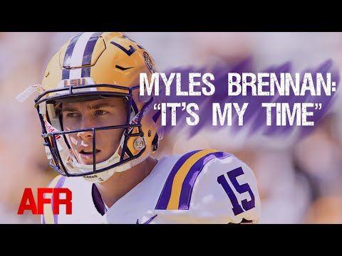 Myles Brennan Ready To Take The Reins As Lsu Qb Youtube In 2020 Lsu Myles Lsu Quarterback