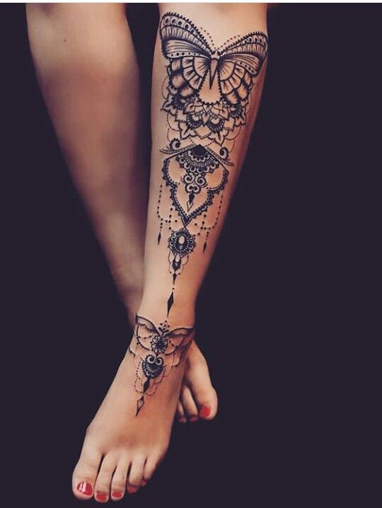 15 Gorgeous Leg Tattoos For Women Leg Tattoos Women Shin Tattoo Tattoos