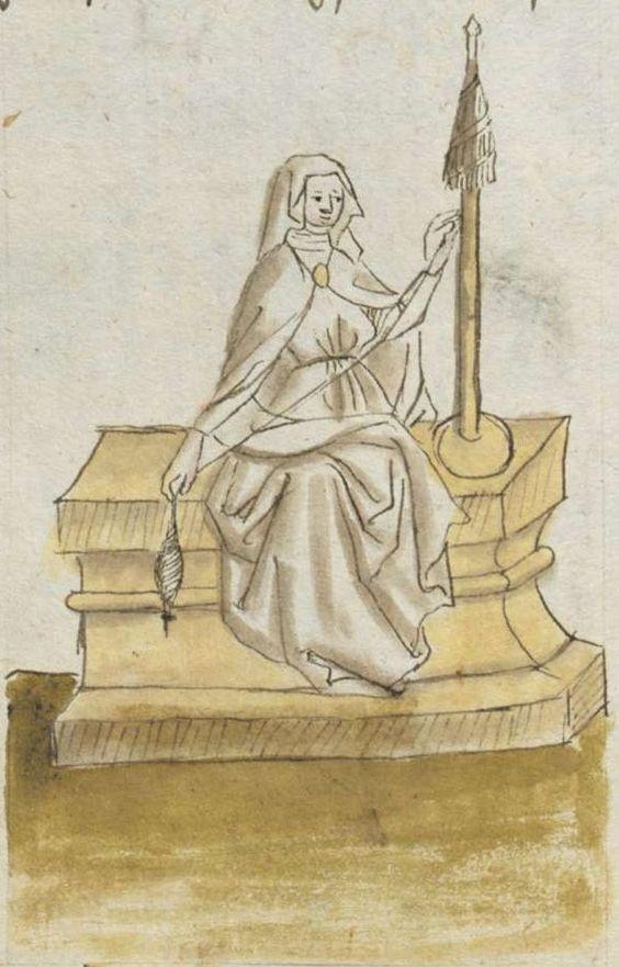 Johannes von Indersdorf. Spruchsammlung von Eigenbesitz. Büchlein von der geistlichen Gemahelschaft Bayern, 1454 Cgm 775 Folio NP: