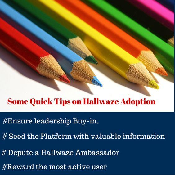 Some Quick Tips On #Adoption. Log on towww.Hallwaze.com