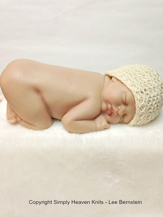 PAY LATER Reversible Baby Hat Heirloom by SimplyHeavenKnits