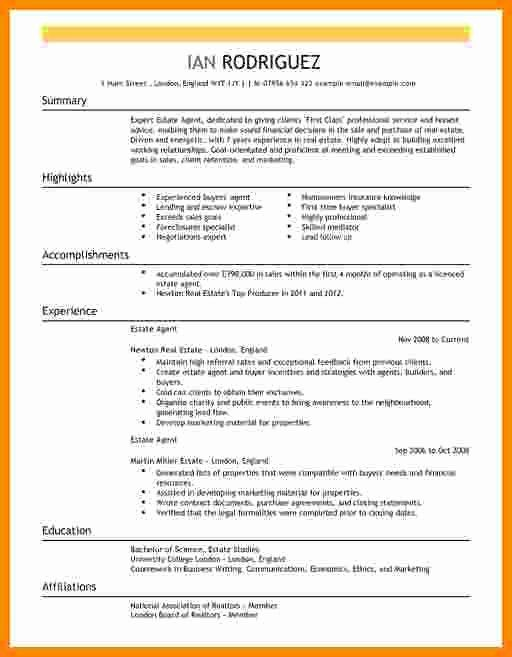 Real Estate Agent Resume Job Description Elegant 6 Cv Real Estate Agent In 2020 Real Estate Agent Job Good Resume Examples Good Cv