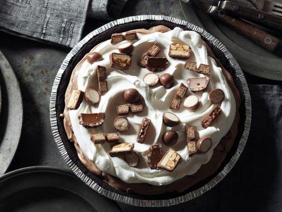 Chocolate Candy Pie #RecipeOfTheDay