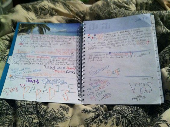 My planner journal!! Got it at Walmart great way to do a quick journaling smash bookish thing I love it