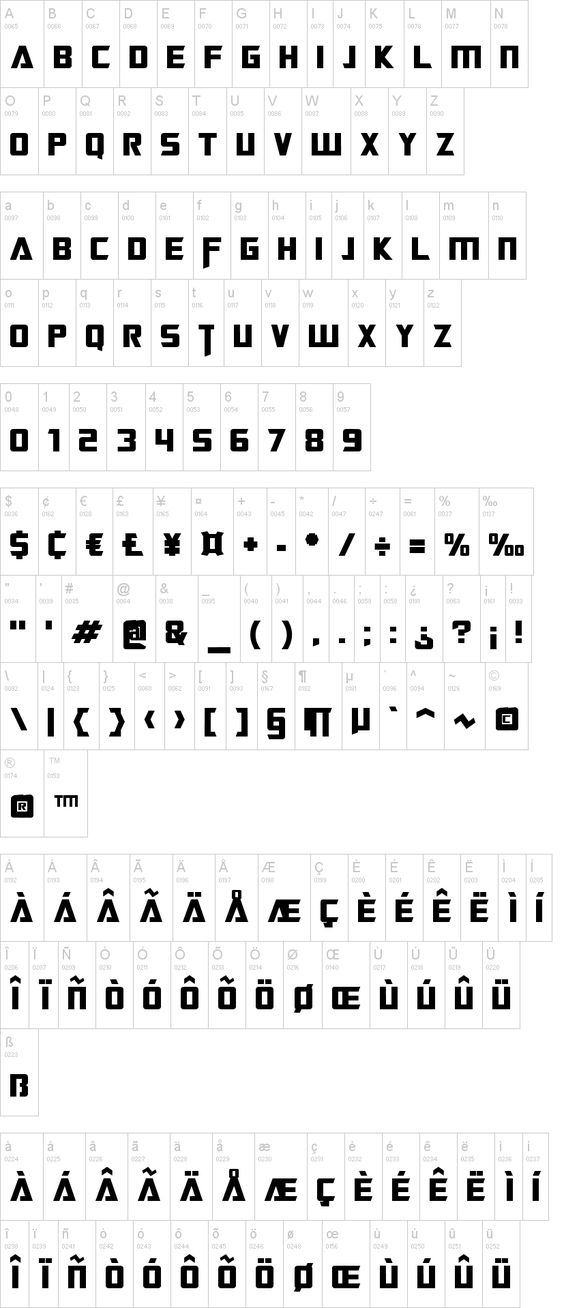 Official Transformers font for making your own invitations
