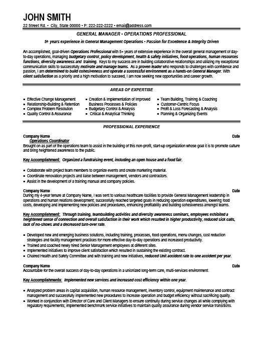 General Sales Manager Resume Template Premium Resume Samples Example Manager Resume Resume Resume Template