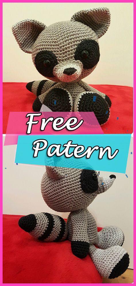 Rocket Raccoon au crochet / Amigurumi Partie 1 - YouTube | 997x474