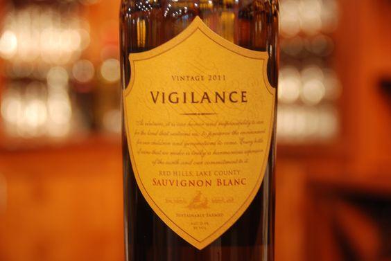 Vigilance Sauvignon Blanc - Sustainable Farmed, 91 PTS Wilfred Wong