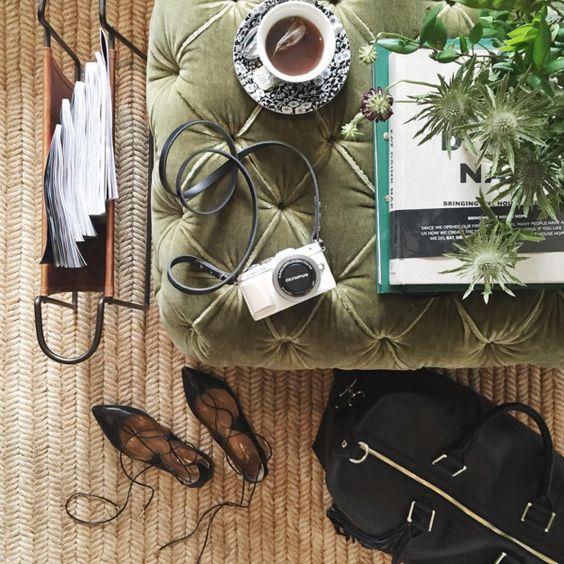 【ELLE DECOR】さりげなさが巧みなルーシー・ウィリアムズの花使い|花好きファッショニスタのインスタグラムを抜き打ち審査!|エル・オンライン