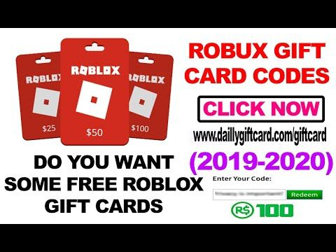 Free Roblox Gift Card Codes For Buying Free Robux Redeem Roblox