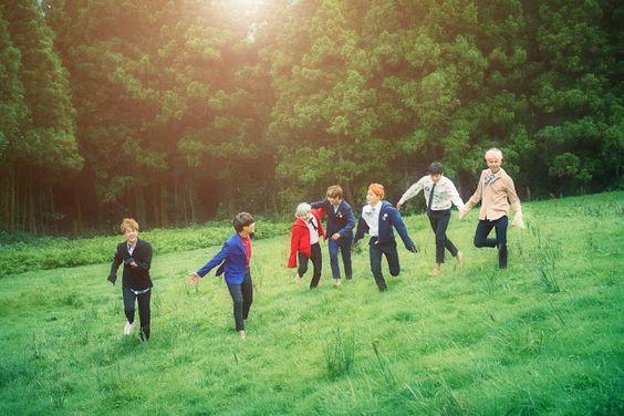 Noticias K-POP: BTS revela mais algumas fotos para seu retorno!