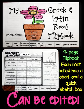 Words the o 39 jays and charts on pinterest for Terr root word
