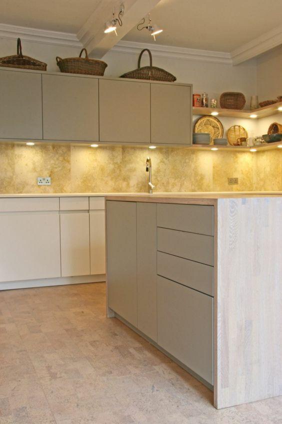bodenbelag küche kork pendelleuchten modelo del primer piso - bodenbelag für küche