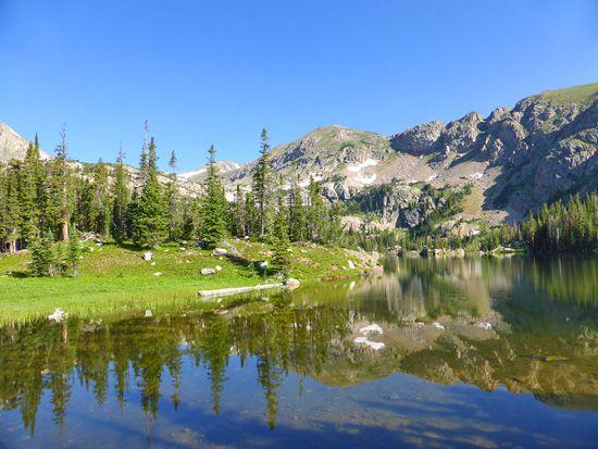 Jasper Lake 10 814 In The Indian Peaks Wilderness Colorado Hiking Wilderness Lake