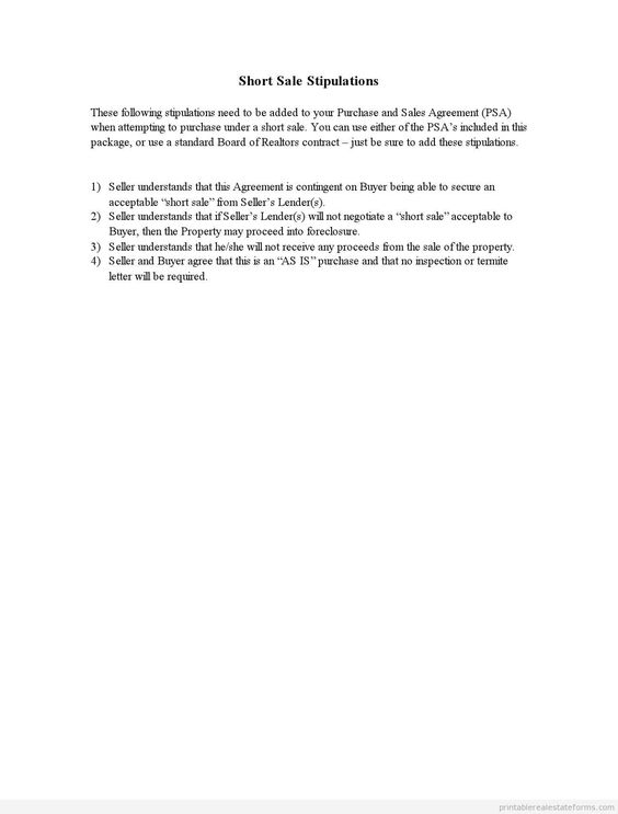 Printable Sample stipulations Form New Legal Forms Pinterest - legal agreement contract