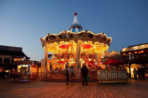 San Francisco's Pier 39 carousel