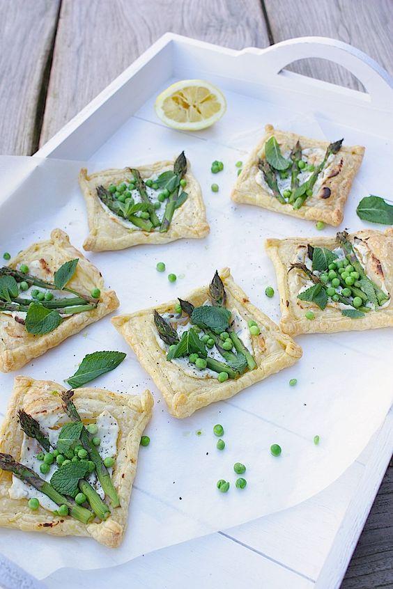 Francesca Kookt_Lentetaartjes met groene asperges, munt en doperwten_3: