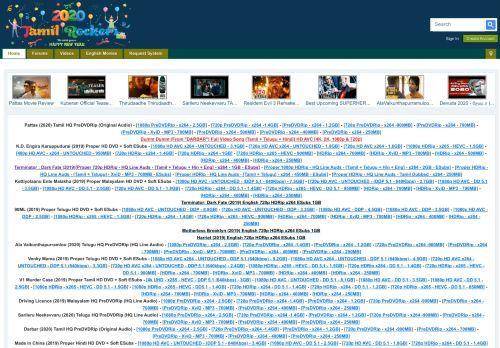 Tamilrockers Download And Watch Latest Tamil Telugu Malayalam Hindi Movies At High Quality Best Movie Sites Download Movies Movie Search