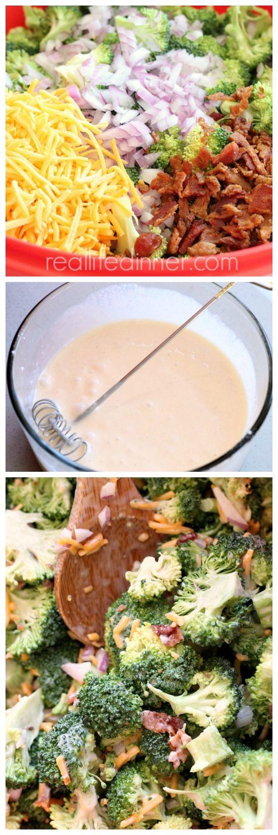 The Broccoli Salad Recipe you Crave! ~ http://reallifedinner.com
