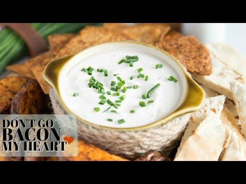 Everybody Needs An Easy Go To Dip For Entertaining And This Is Sour Cream And Chive Dip Recipe Is The Perfect Chives Dip Sour Cream Dip Recipes Sour Cream Dip