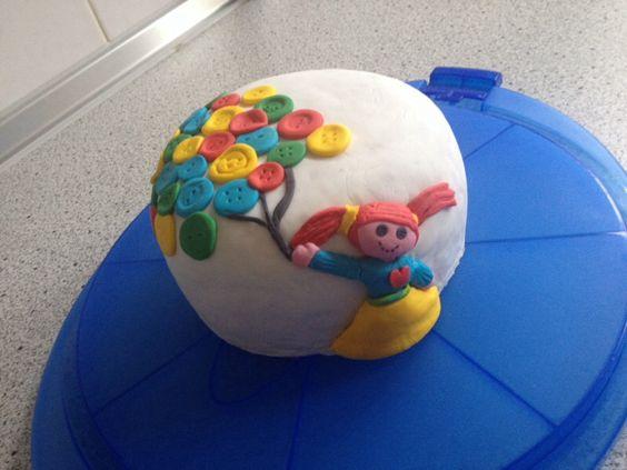 knopfballons torte