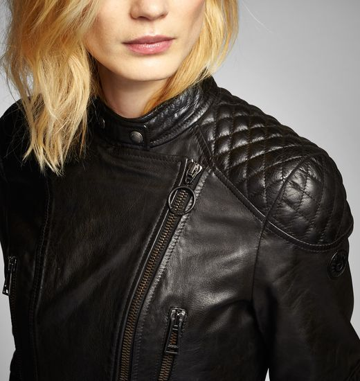 Sidney Lederjacke   Designer-Jacken & -Mäntel für Damen   Belstaff