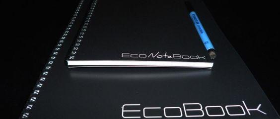 EcoBook - O quadro branco em forma de caderno!