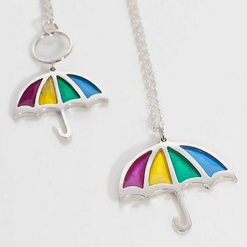Beautiful coloured pendants for a rainy day! By Kate Wimbush