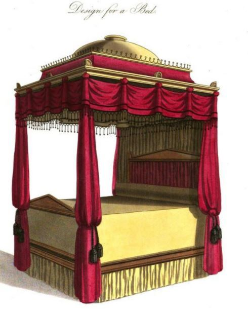 Regency Household Four Poster Beds In Various Styles Four