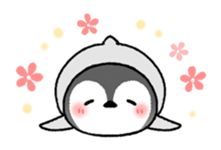 Emperor penguin brothers (English) - Creators' Stickers: