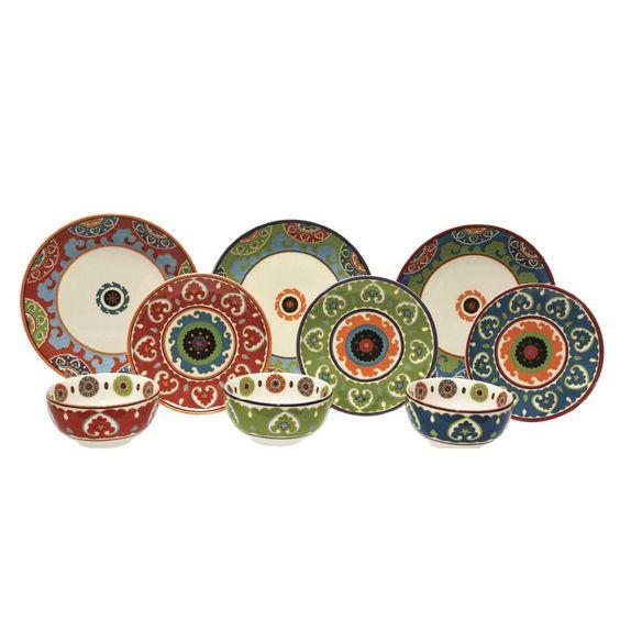 Aparelho De Jantar Nexus L`Hermitage Porcelana 18 Peças