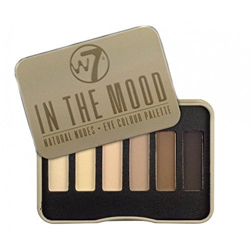 W7 In The Mood Natural Nudes Eye Shadow Palette W7 dupe for naked basic palette
